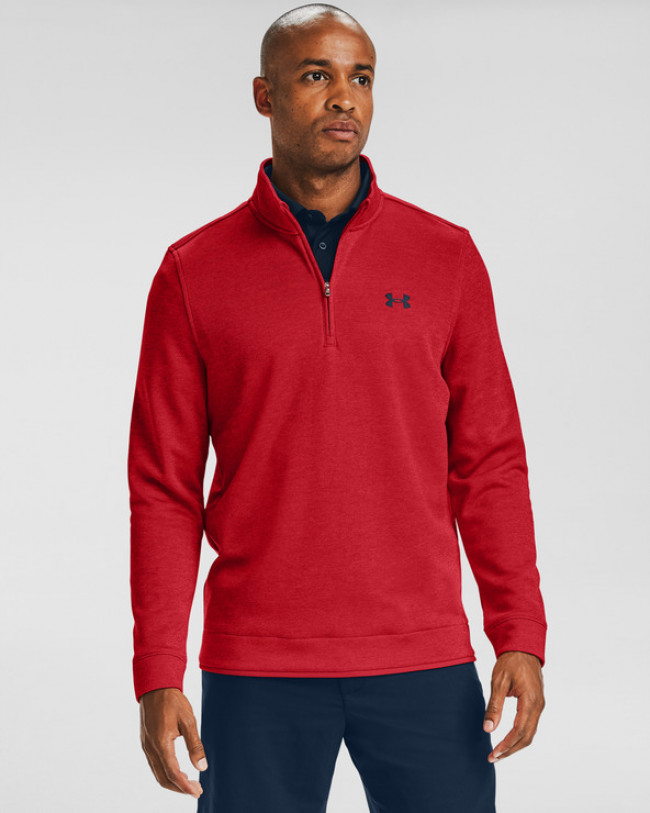 Under Armour Storm SweaterFleece ¼ Zip Layer Mikina Červená