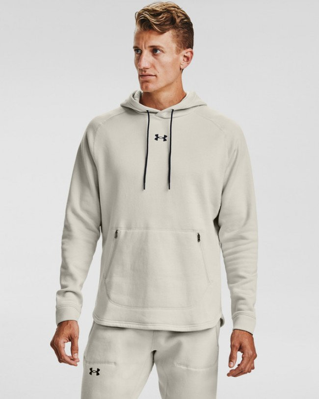 Under Armour Charged Cotton® Fleece Mikina Šedá
