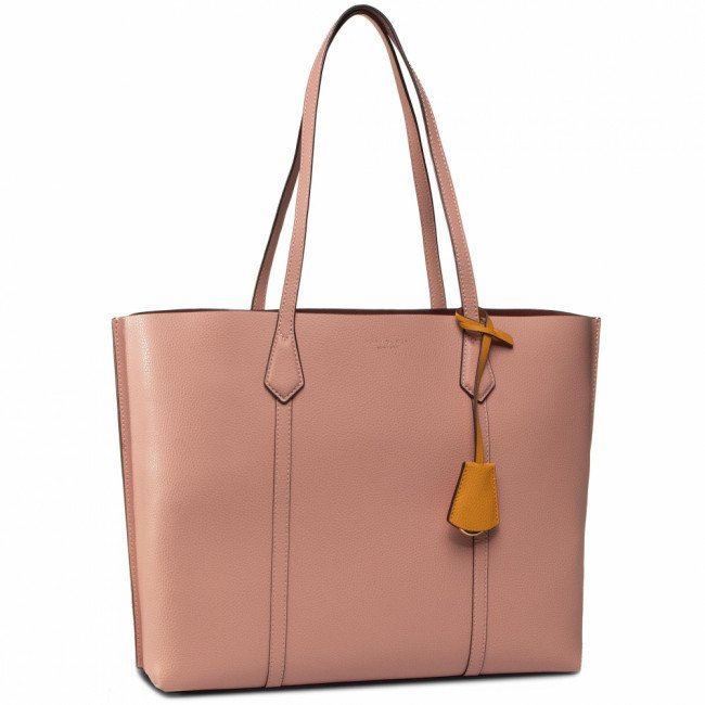 Kabelka TORY BURCH - Perry Triple-Compartment Tote 53245 Pink Moon 689