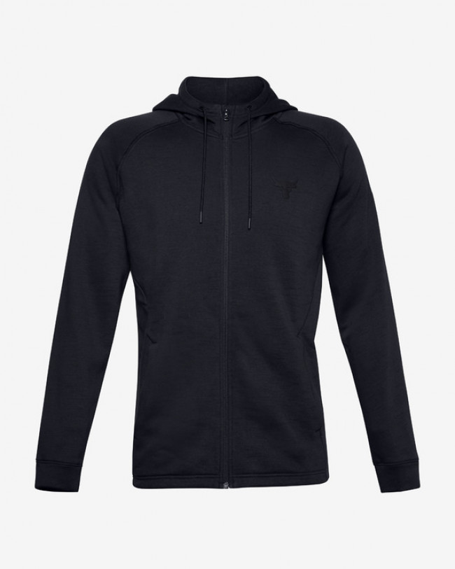 Under Armour Project Rock CC Fleece Mikina Čierna