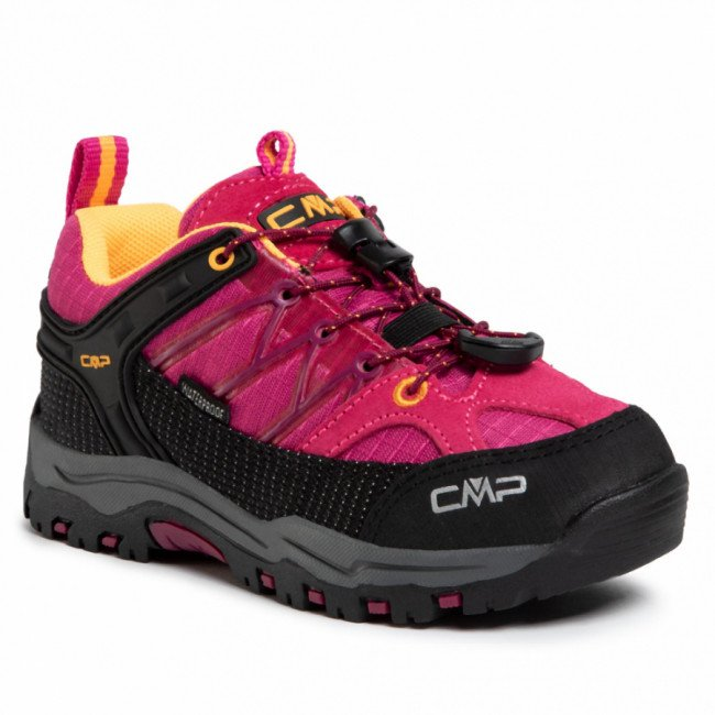 Trekingová obuv CMP - Kids Rigel Low Trekking Shoes Wp 3Q54554  Bouganville/Goji 06HE