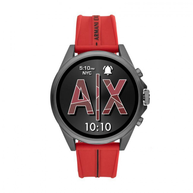 Smart hodinky ARMANI EXCHANGE - Drexler AXT2006 Red/Grey