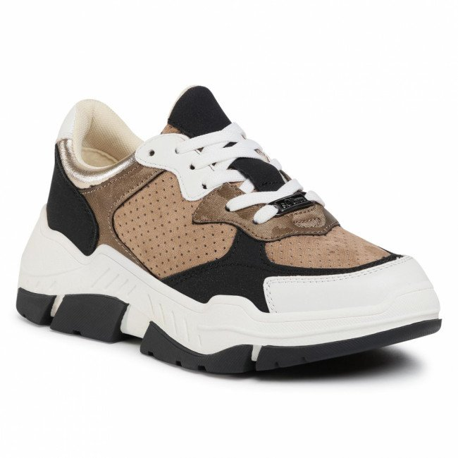 Sneakersy S.OLIVER - 5-23605-35 Taupe Comb 344