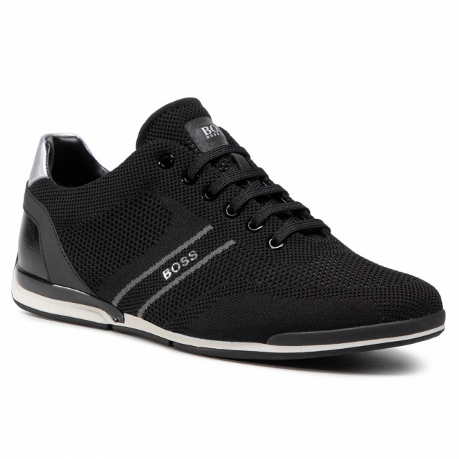 Sneakersy BOSS - Saturn 50432830 10227355 01 Black 001