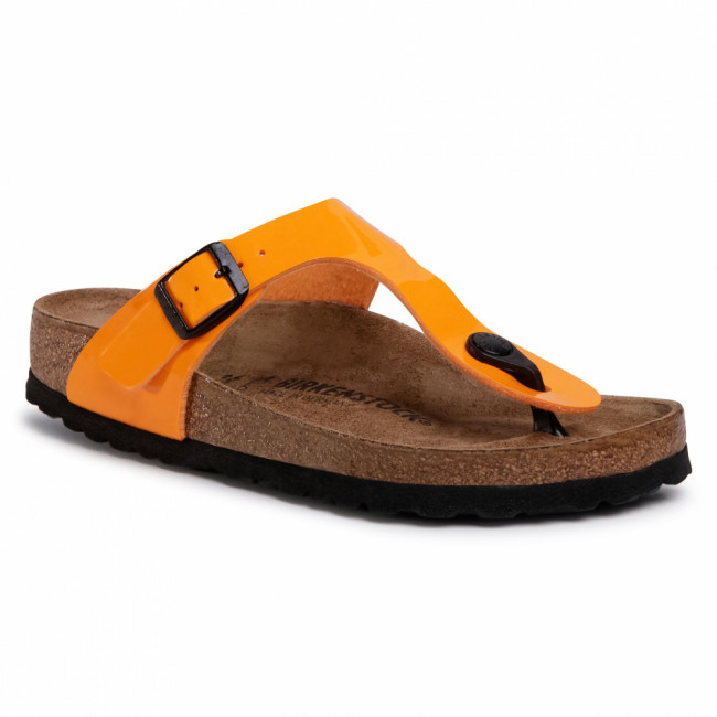 Žabky BIRKENSTOCK - Gizeh Bs 1017598  Patent Marygold