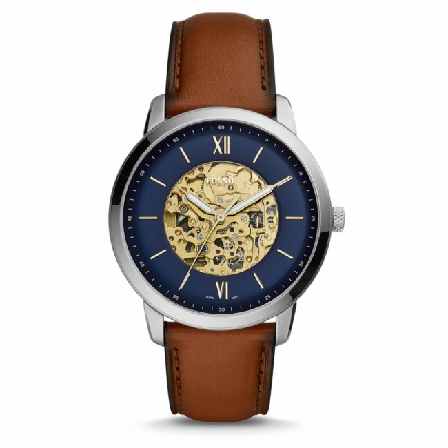 Hodinky FOSSIL - Nautra ME3160 Brown/Silver