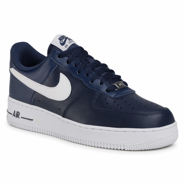 Topánky NIKE - Air Force 1 '07 An20 CJ0952 400 Midnight Navy/White