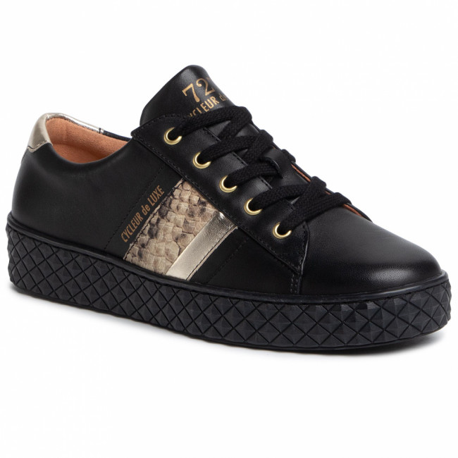 Sneakersy CYCLEUR DE LUXE - Pica CDLW202102 Black/Gold