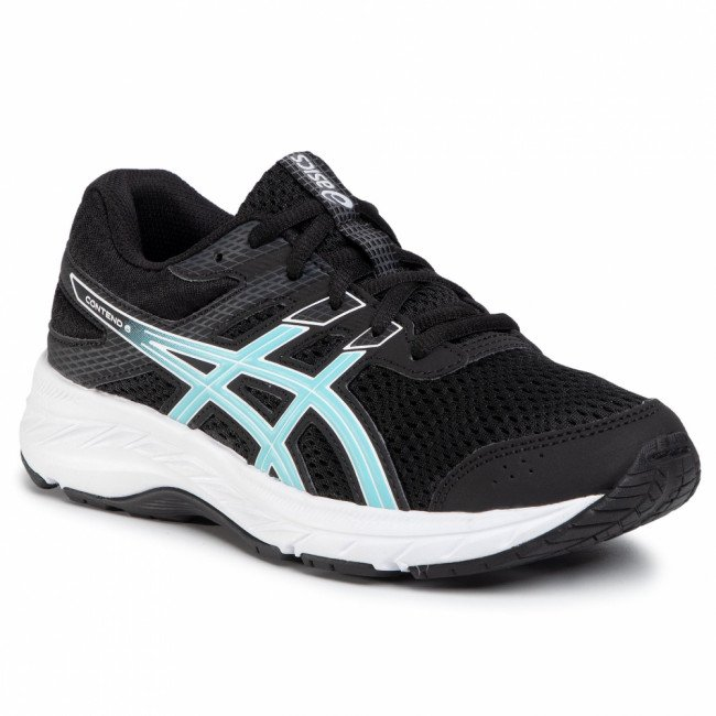 Topánky ASICS - Contend 6 Gs 1014A086 Black/Ocean Decay 003