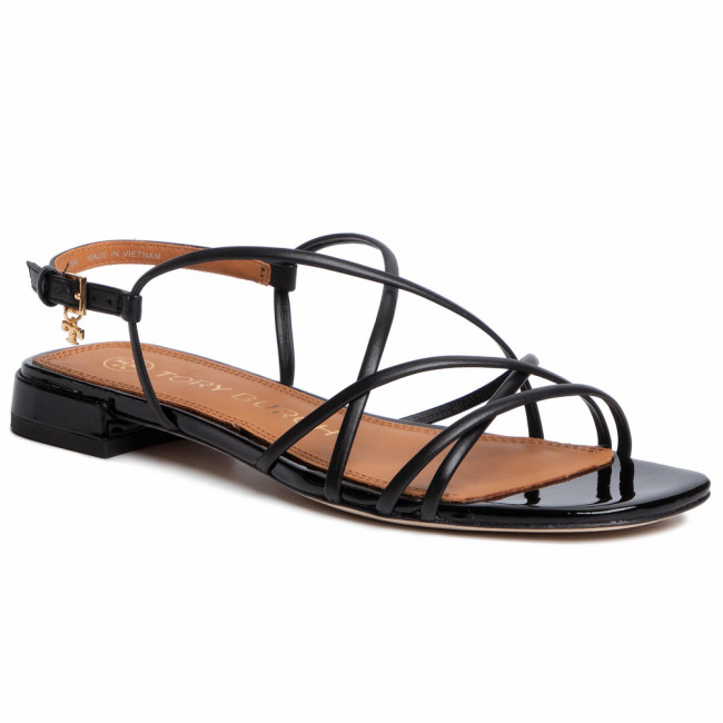 Sandále TORY BURCH - Penelope 15Mm Sandal 74012 Perfect Black/Perfect Black 004