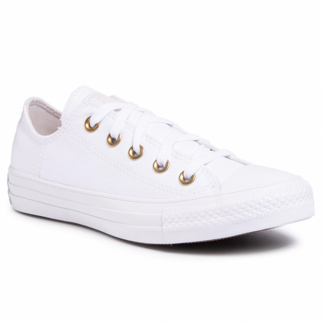 Tramky CONVERSE - Ctas Ox 167824C  White/PalePutty/White