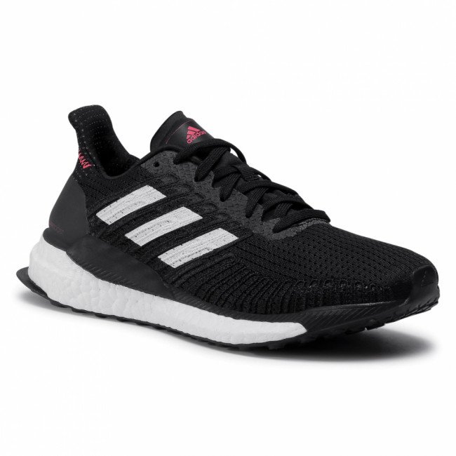 Topánky adidas - Solar Boost 19 W FW7820 Core Black/Cloud Black/Signal Pink