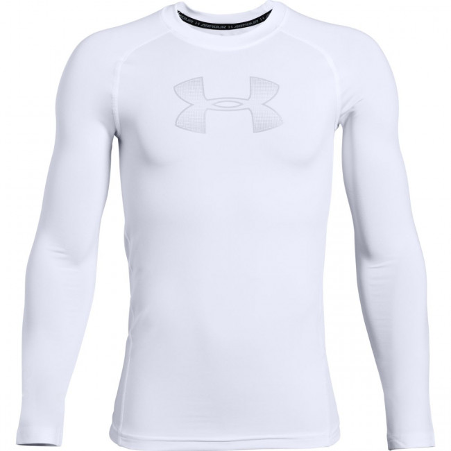 Tričko Under Armour HeatGear Armour LS-WHT