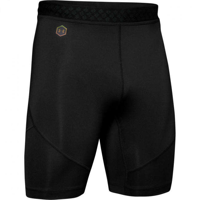 Kompresní šortky Under Armour Rush Run Half Tight-Blk