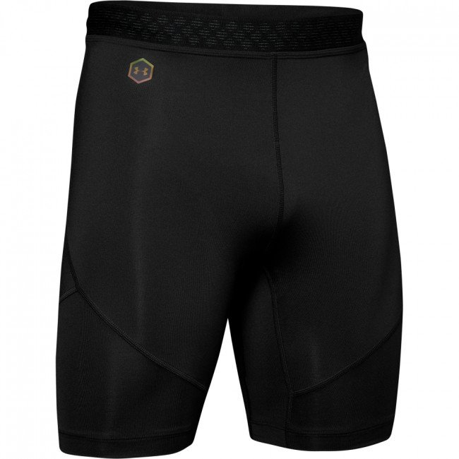 Kompresné šortky Under Armour Rush Run Half Tight-Blk