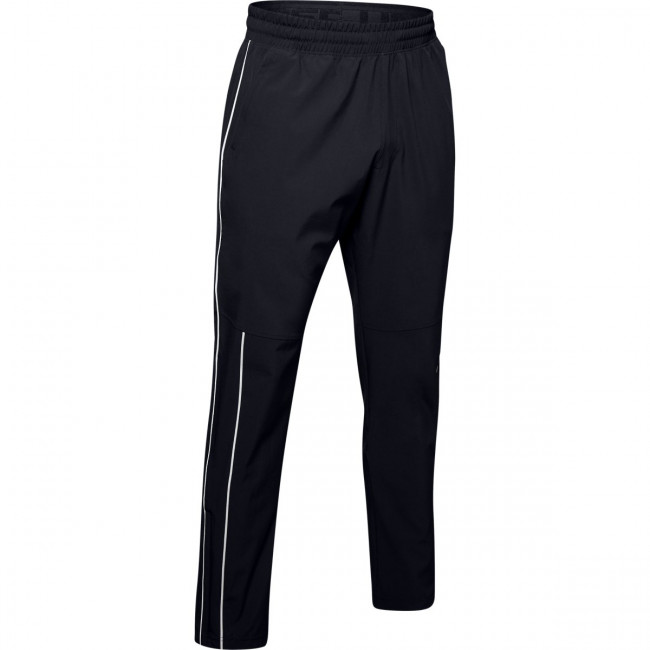 Tepláky Under Armour Athlete Recovery Woven Warm Up Bottom-Bl