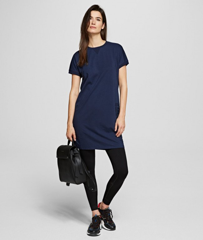 Šaty Karl Lagerfeld Address T-Shirt Dress