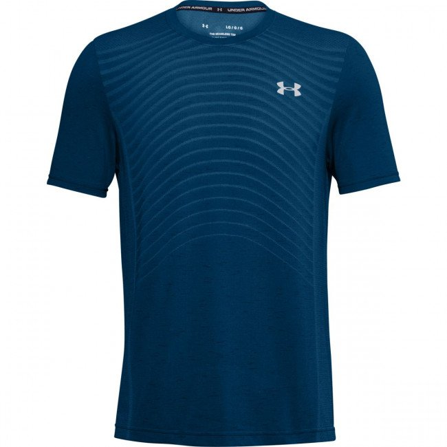 Tričko Under Armour UA Seamless Wave SS-BLU