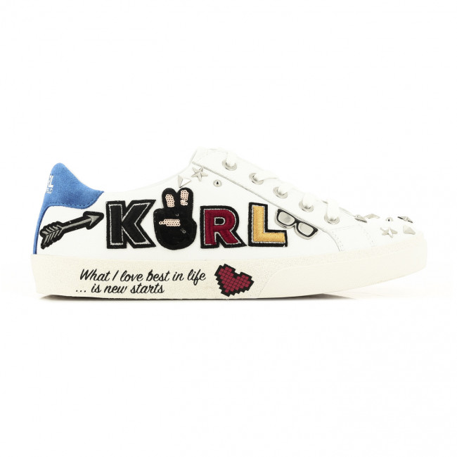 Tenisky Karl Lagerfeld Skool Karl Multi Patch Lo