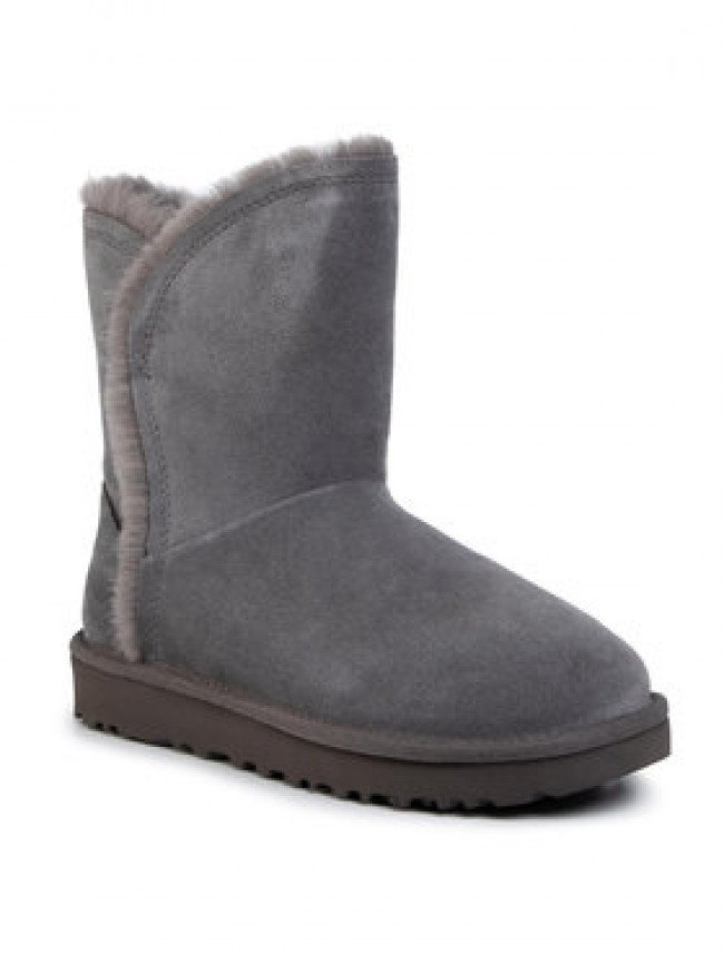 Ugg Topánky W Classic Short Fluff High-Low 1103746 Sivá