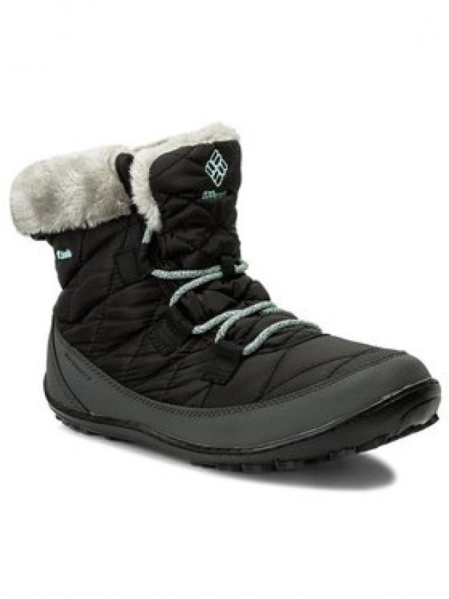 Columbia Snehule Youth Minx Shorty Omni-Heat Waterproof BY1334 Čierna