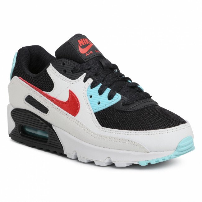 Topánky NIKE - Air Max 90 DA4290 100 Summit White/Chile Red