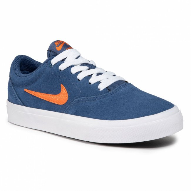 Topánky NIKE - Sb Charge Suede (Gs) CT3112 401 Mystic Navy/Starfish