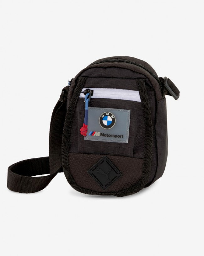 Puma BMW Motosport Mini Portable Cross body bag Čierna