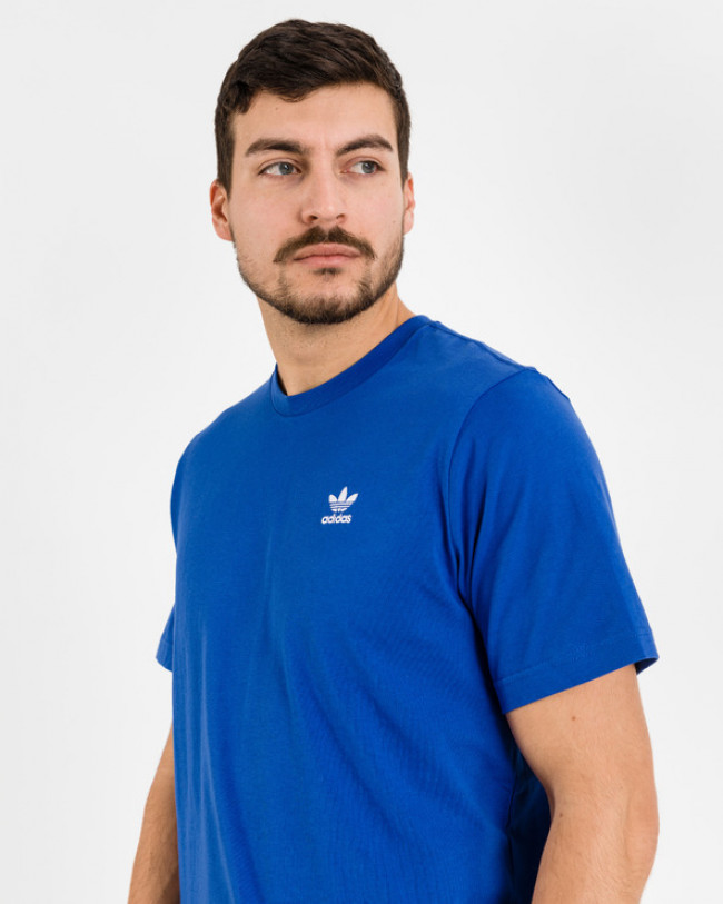 adidas Originals Trefoil Essentials Tričko Modrá