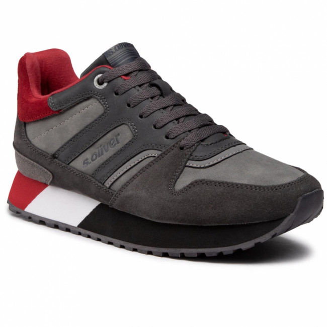 Sneakersy S.OLIVER - 5-15204-25 Dk Grey Comb 258