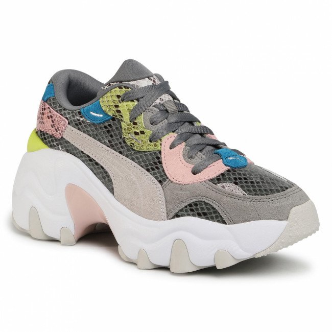 Sneakersy PUMA - Pulsar Wedge Disco Wild Wn's 373938 02 Ultra Gray/Gray Violet