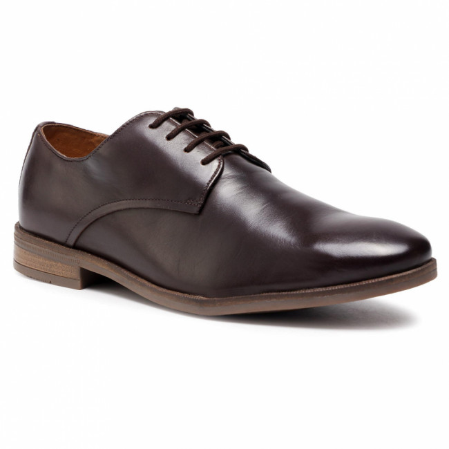Poltopánky CLARKS - Stanford Walk 261538867  Dark Brown Leather