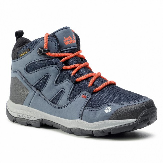 Trekingová obuv JACK WOLFSKIN - Mtn Attack 3 Texapore Mid K 4034081 S Dark Blue/Orange