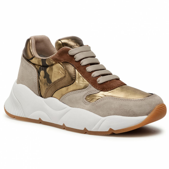 Sneakersy VOILE BLANCHE - Sheel 0012015255.03.1D99 Sabbia/Oro