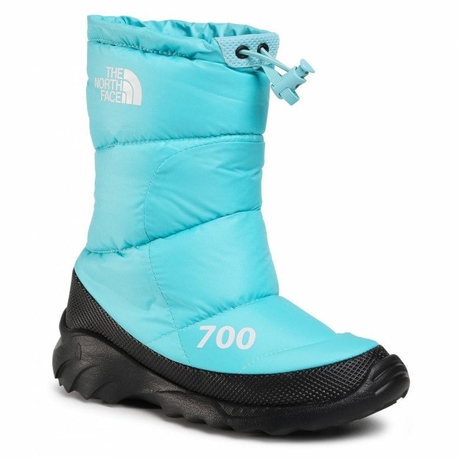 Snehule THE NORTH FACE - Nuptse Bootie 700 NF0A4OAYVDE1 Transantarctic Blue/Tnf White