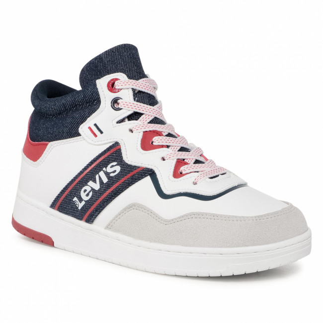 Sneakersy LEVI'S® - Irving Mid Lace VIRV0004S White 0061