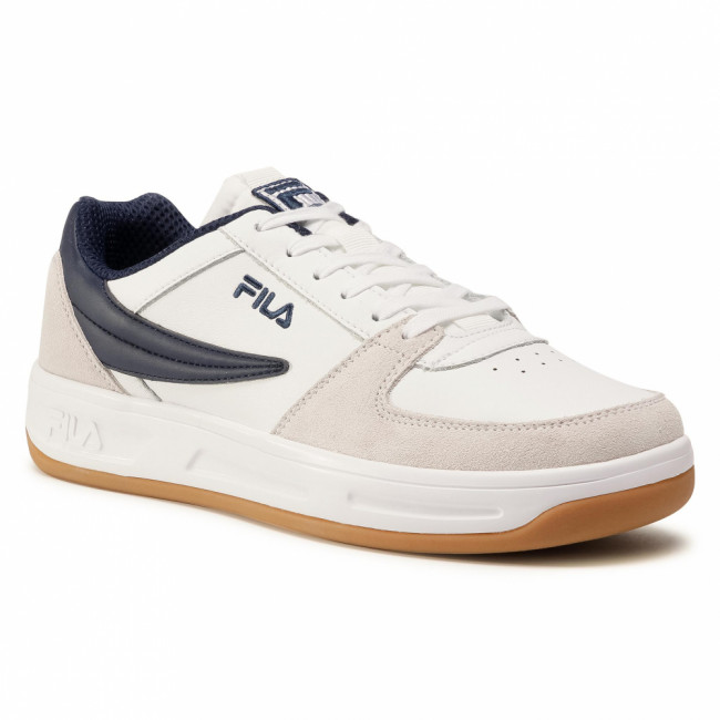 Sneakersy FILA - Defender 1011061.92E White/Fila Navy