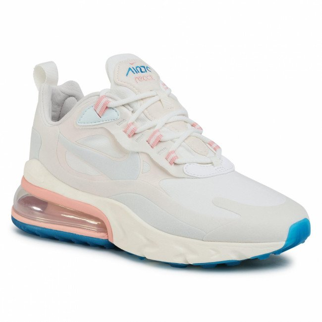 Topánky NIKE - Air Max 270 React AT6174 100 Summit White/Ghost Aqua