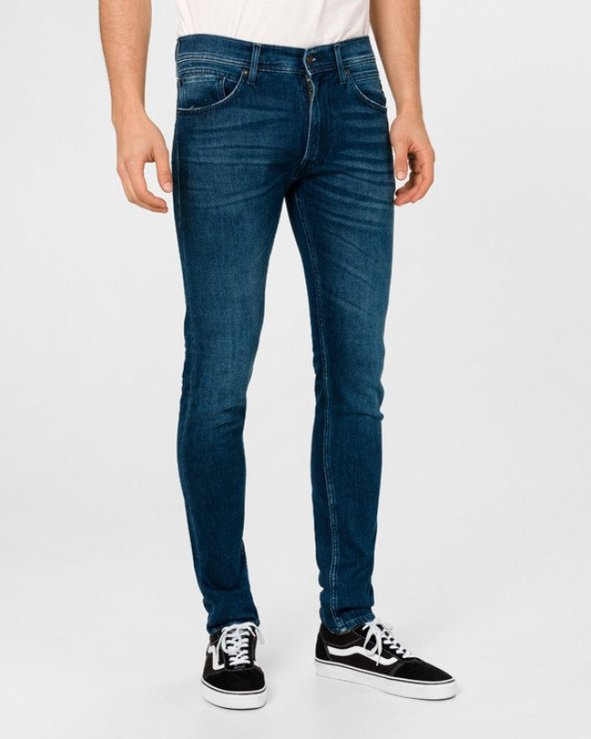 Replay X.L.I.T.E Jondrill Jeans Modrá