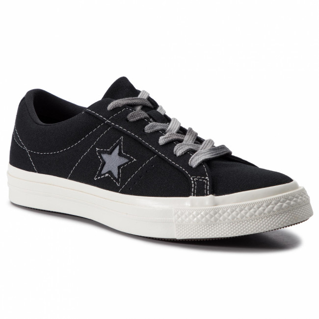 Tenisky CONVERSE - One Star Ox 564151C Black/Cool Grey/Egret