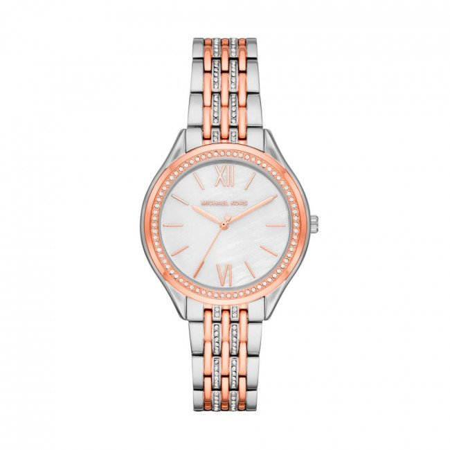 Hodinky MICHAEL KORS - Mindy MK7077  Silver Rose Gold/Silver Rose Gold