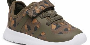 Sneakersy CLARKS - Ath Flux T 261498646 Olive Camo