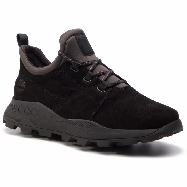 Sneakersy TIMBERLAND - Brooklyn Lace Oxford TB0A1W9B0151  Black Suede