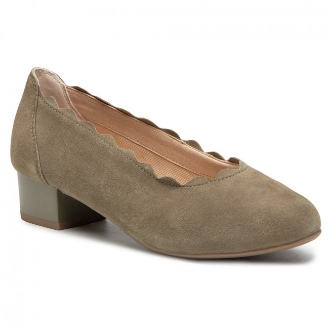 Poltopánky CAPRICE - 9-22301-26 Cactus Suede 759