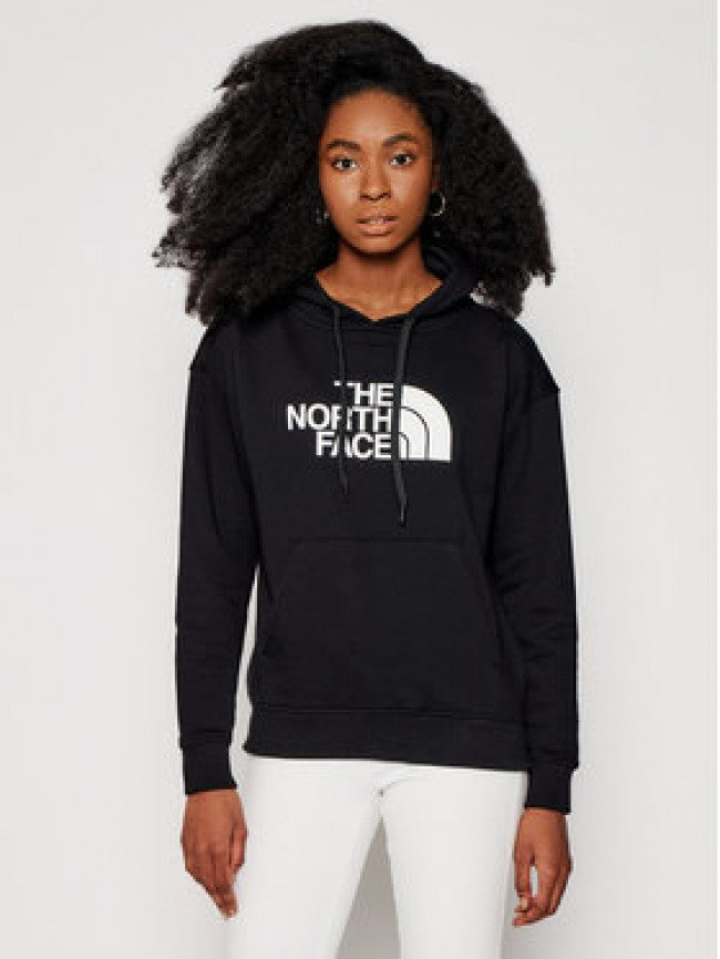 The North Face Mikina W Light Drew Peak Hoodie NF0A3RZ4JK31 Čierna Regular Fit