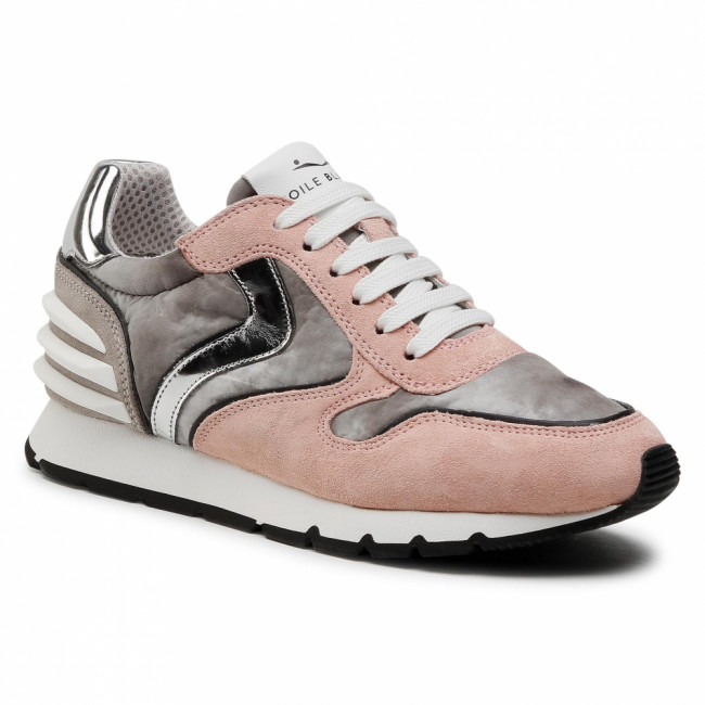 Sneakersy VOILE BLANCHE - Julia Power 0012015735.04.1M15 Rose/Anthracite