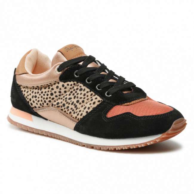Sneakersy PEPE JEANS - Sydney Pony PGS30316  Spice 193