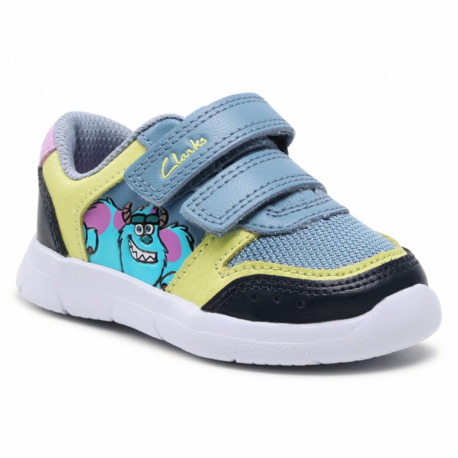 Sneakersy CLARKS - Ath Scare T 261577427 Mid Blue