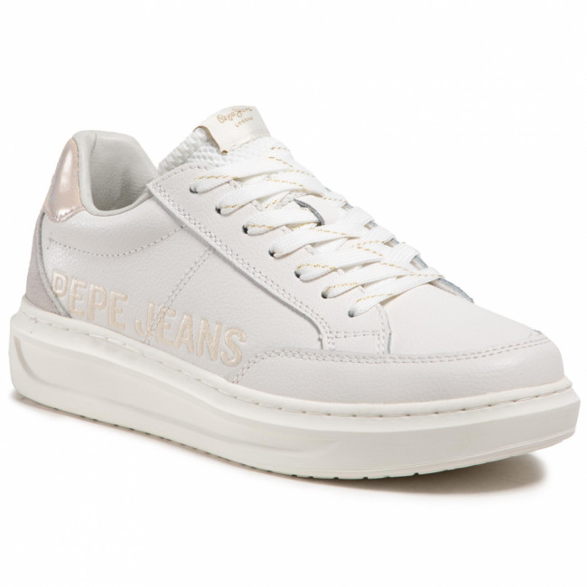 Sneakersy PEPE JEANS - Abbey Paddy PLS31151 White 800