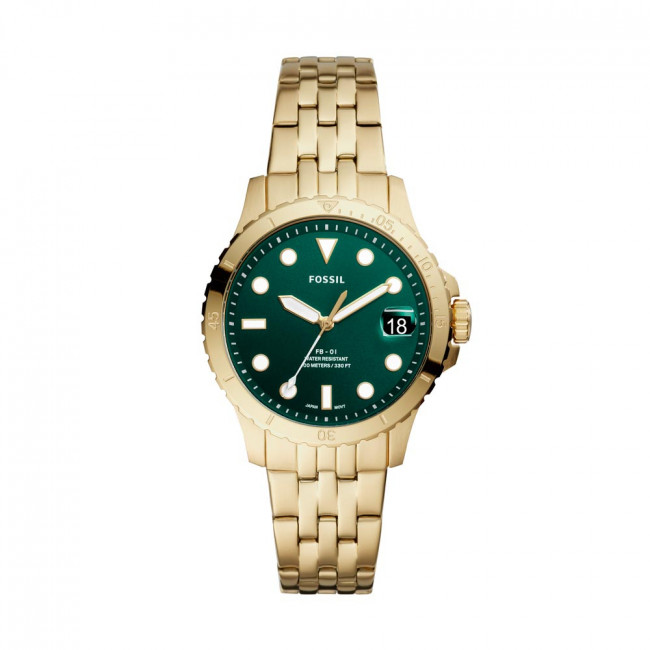 Hodinky FOSSIL - FB-01 ES4746 Gold/Green
